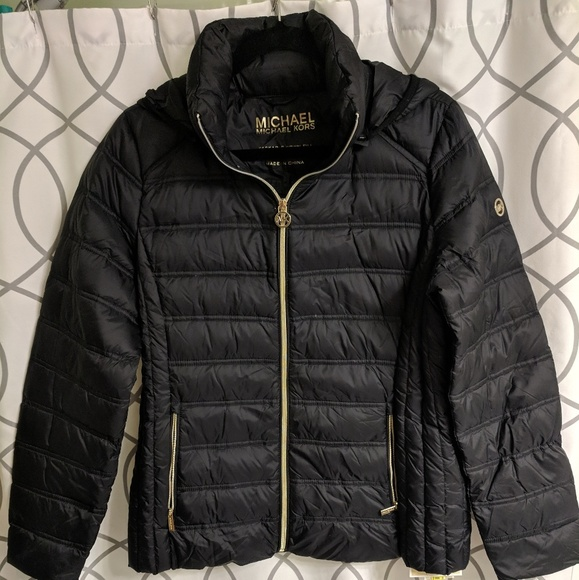 bf132c5ab8d Michael Kors Packable Down Jacket